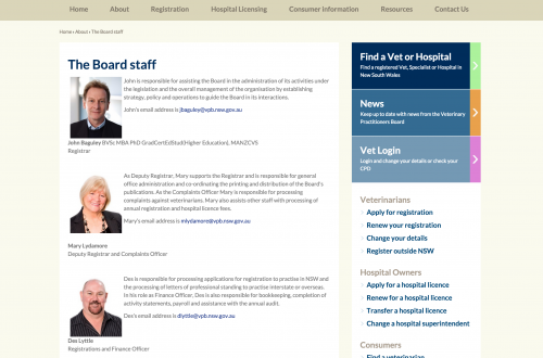 Veterinary Practitioners Board of New South Wales