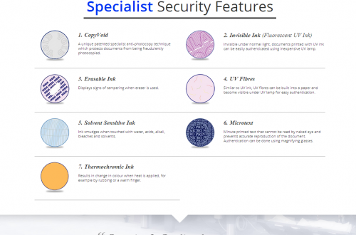 MBM Specialist Security Features
