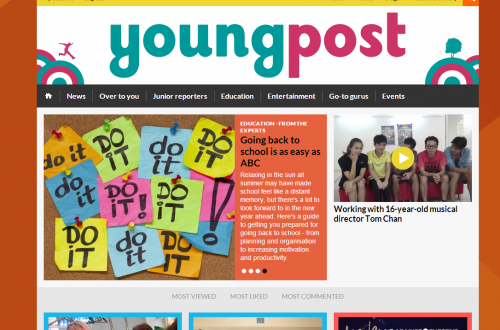 Young Post Home Page